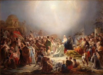 Museu Arte Antiga  - pintor Domingos Sequeira pintura Adoração dos Magos