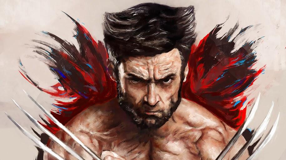 Wolverine, Logan, Claw, Marvel, Art, 4K, #6.1215