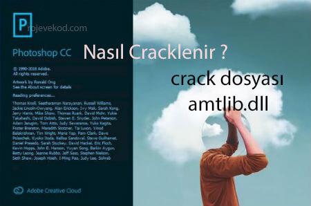 Adobe Photoshop CC 2019 Full Crack - amtlib.dll - Patch