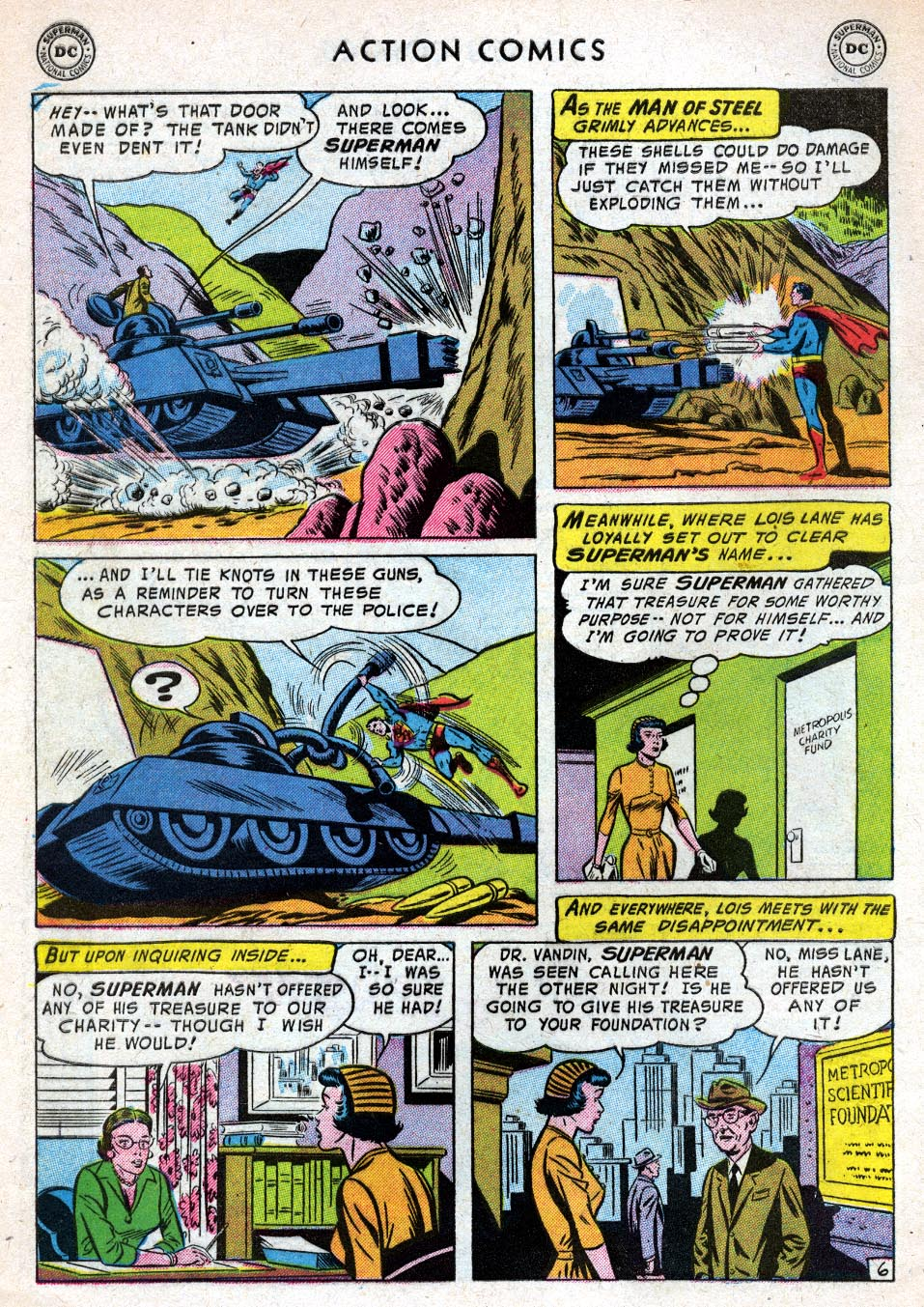 Read online Action Comics (1938) comic -  Issue #219 - 8