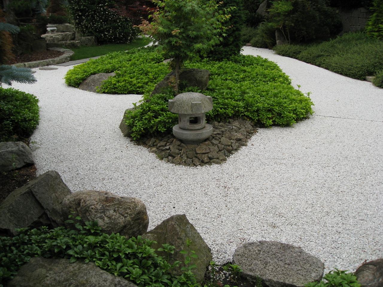 Decoracion actual de moda jard n de piedras espectacular - Disenador de jardines ...
