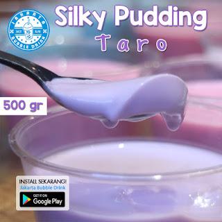 resep cara membuat silky pudding