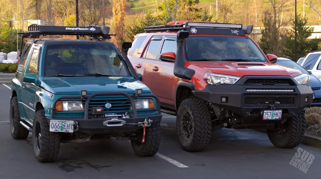 Suzuki Sidekick and 2015 Toyota 4Runner