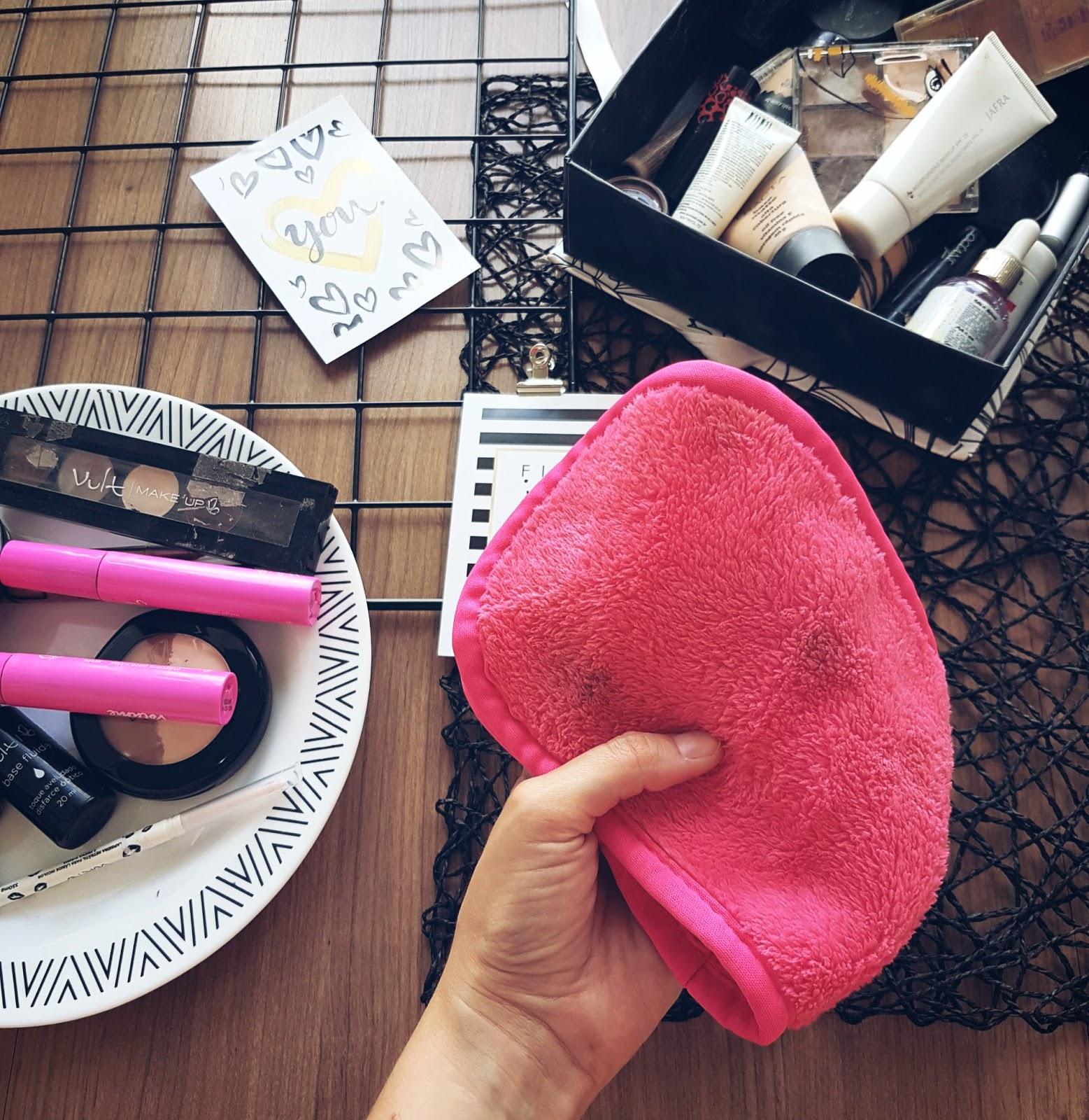 toalha removedora de maquiagem
