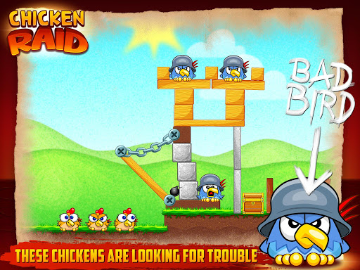 Chicken Raid Android game Full HD apk free download