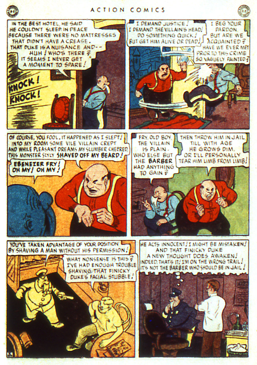 Read online Action Comics (1938) comic -  Issue #98 - 19