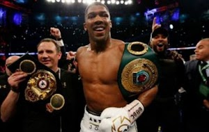 PROUD OF YOU! Full Details On How  Nigeria's  Boxer, Joshua Olufemi Anthony knocked out Klitschko in brutal fight