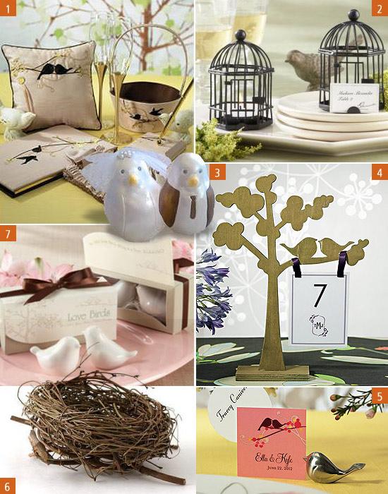 love bird decorations for wedding wedding decorations. Black Bedroom Furniture Sets. Home Design Ideas