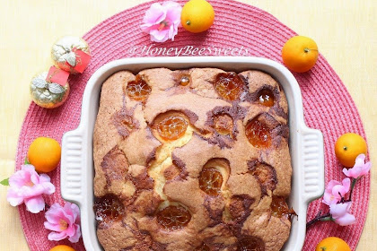 Kumquat Preserve Butter Cake