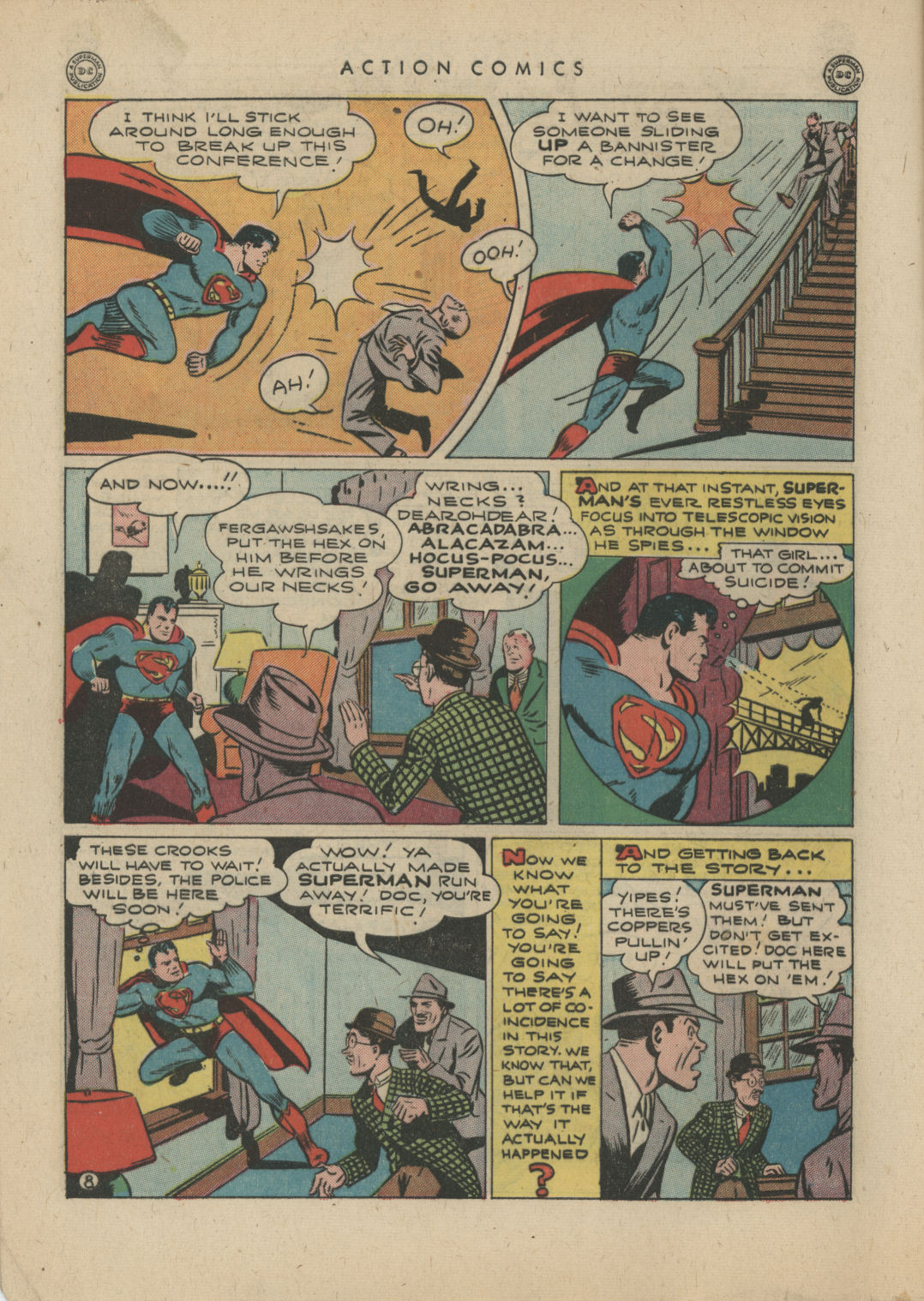 Read online Action Comics (1938) comic -  Issue #83 - 10