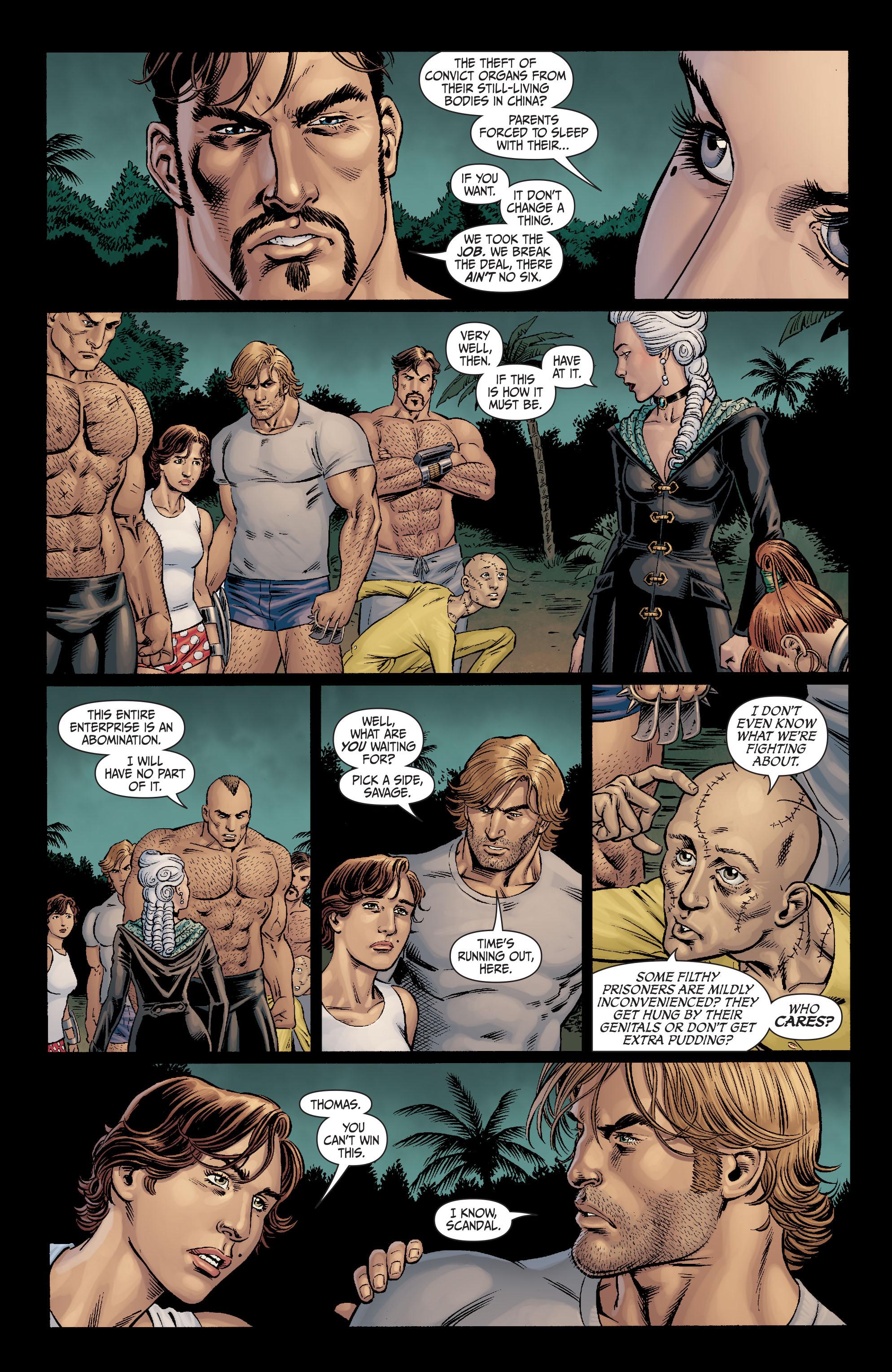 Read online Secret Six (2008) comic -  Issue #11 - 20