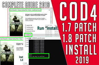 How to update call of duty 4 any version to 1.8 COD4x v17.7 2019