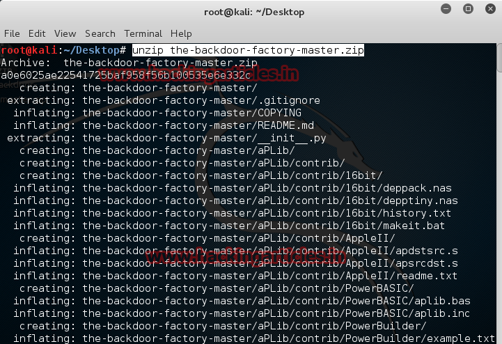 Hack Remote Windows PC using The Backdoor factory with Metasploit