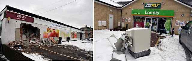 Convenience stores in Fairweather Green and Pudsey targeted in ATM raids