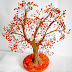Twisted Wire Tree Sculpture Tutorial with Plaster of Paris Base