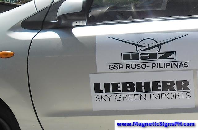 Car Door Logo Magnets