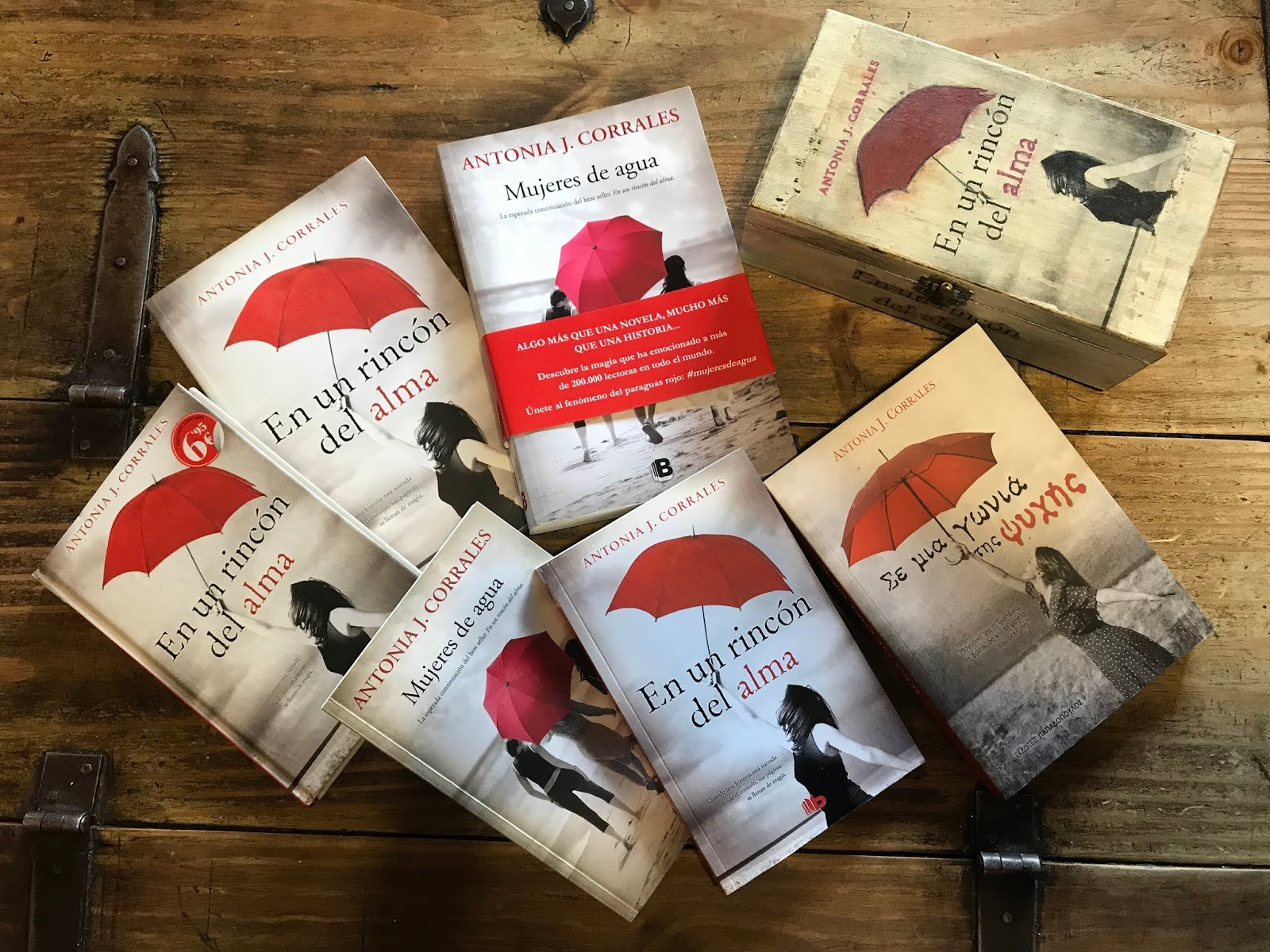 """""""En un rincón del alma"""" lleva 3 reimpresiones en edición de bolsillo y""""  Mujeres de agua"""", su segunda parte, dos. Más las ediciones de trade y las  ..."""