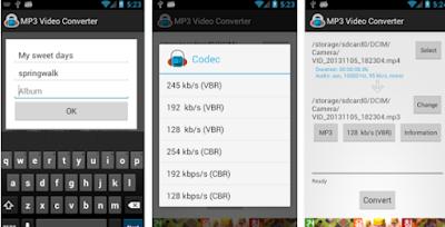 تطبيق تحويل ملفات الفيديو إلى ملفات الصوت 2017