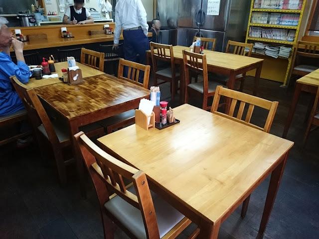 うさまる食堂 曙店の店内の写真