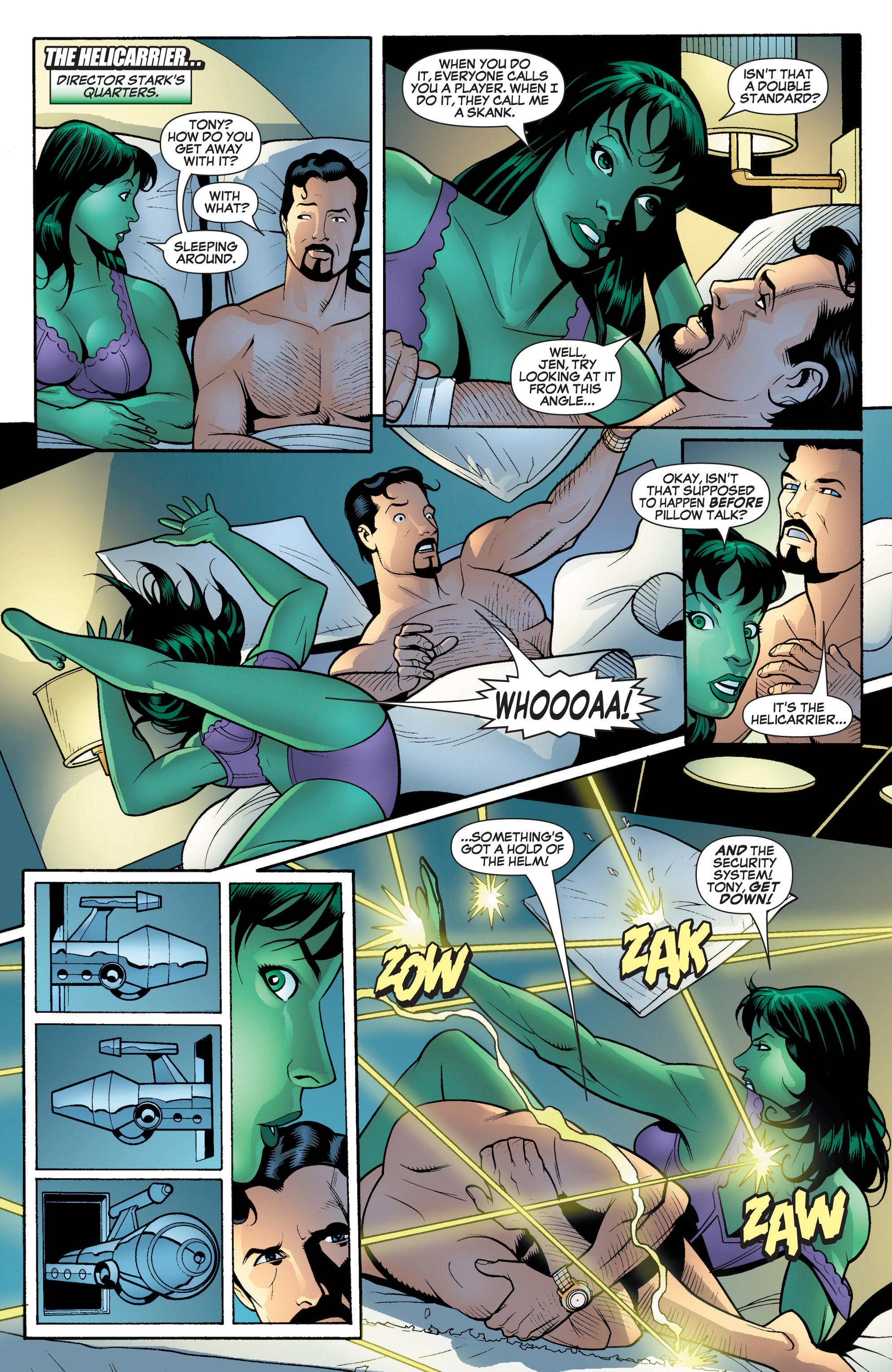 Read online She-Hulk (2005) comic -  Issue #17 - 9