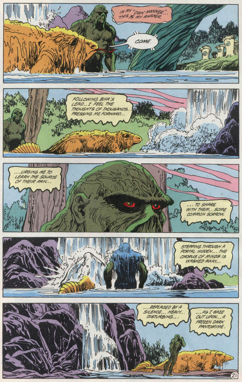 Swamp Thing (1982) Issue #100 #108 - English 21