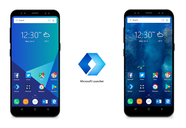 Microsoft Launcher, Android Oreo launcher, Android
