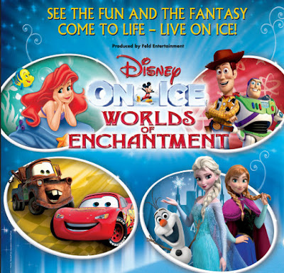 Disney On Ice Autumn 2015 UK Tour Worlds Of Enchantment