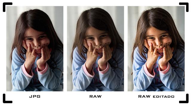 Curso Foto - Raw y JPG - Comparativa