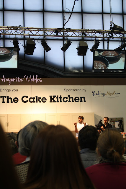 Eric Lanlard at Cake and Bake Show Manchester