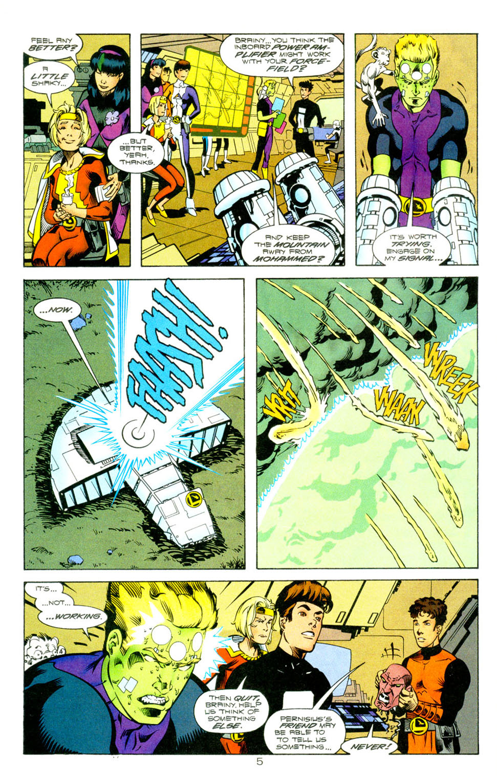 Legion of Super-Heroes (1989) 118 Page 6
