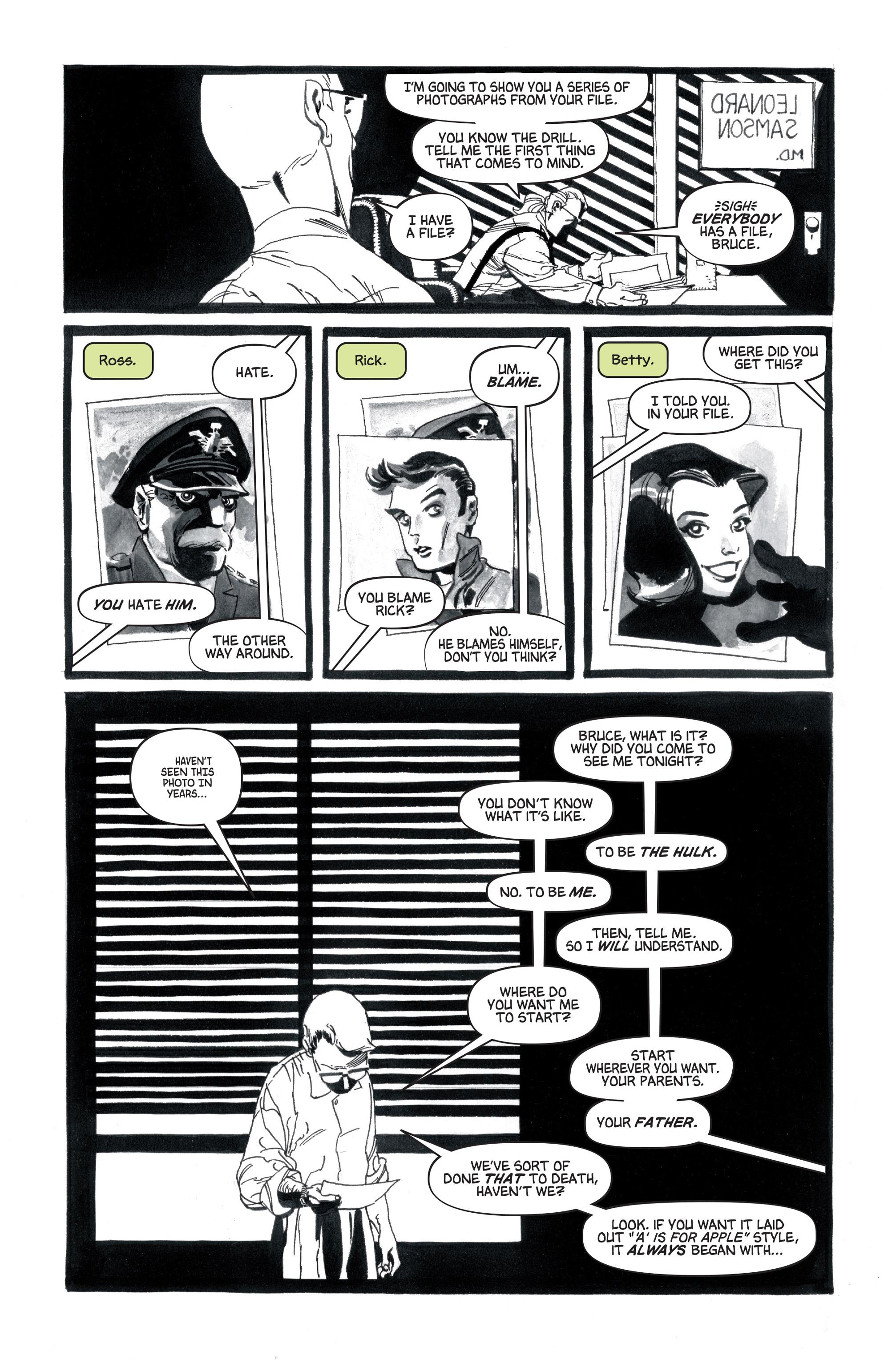 Read online Hulk: Gray comic -  Issue #1 - 6
