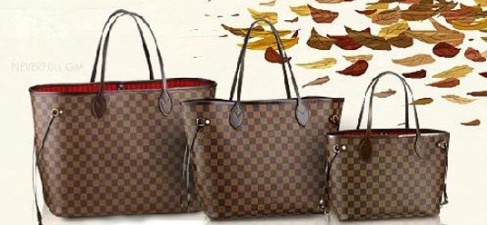 7518099e7cd3 Cheer For Bags !: Louis Vuitton Damier Ebene Canvas Neverfull