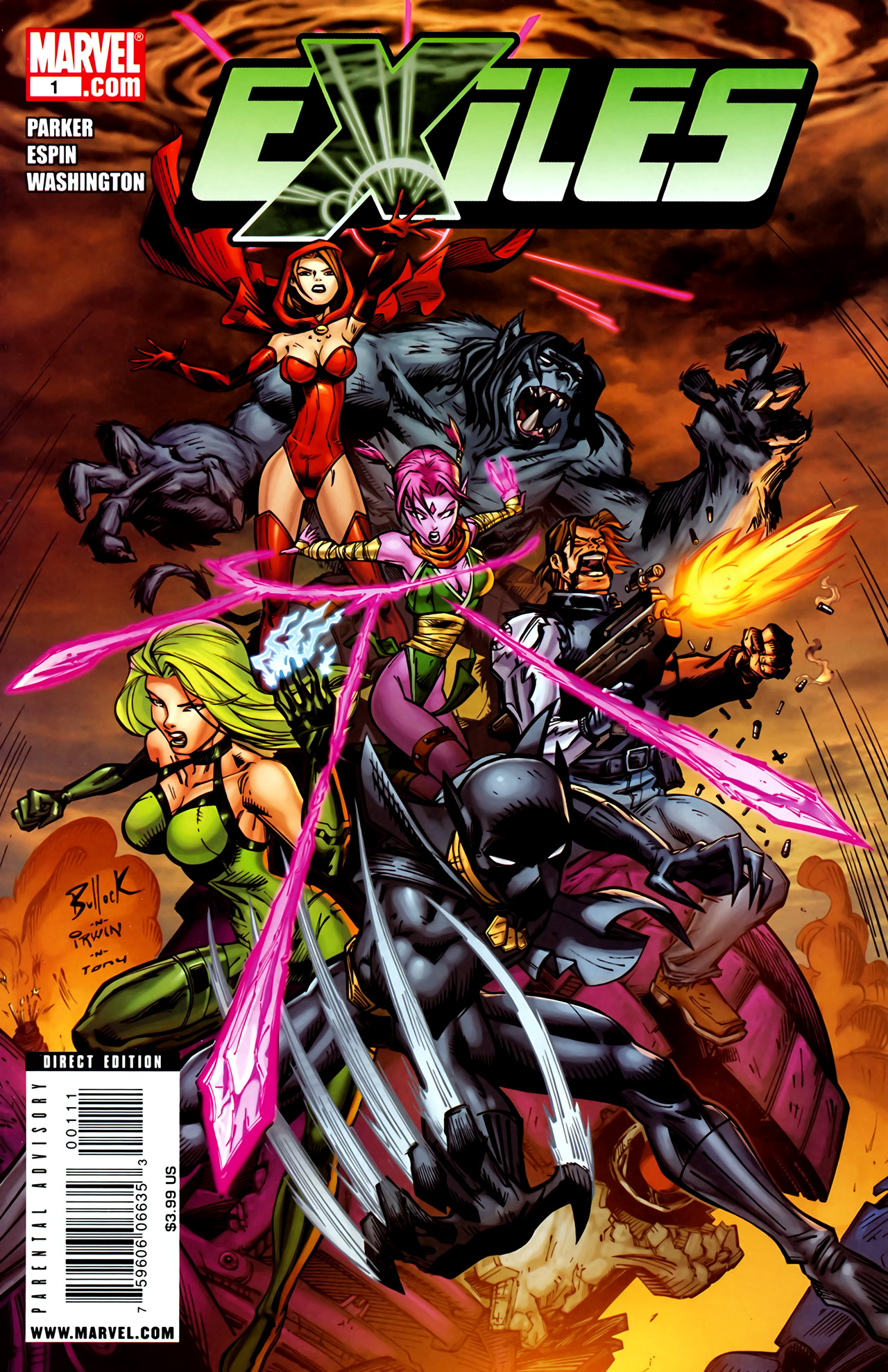 Read online Exiles (2009) comic -  Issue #1 - 1