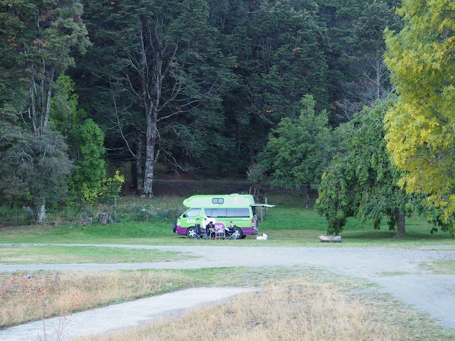 Campsite Wanaka Neuseeland