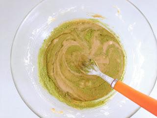 appareil pour madeleines thé vert matcha