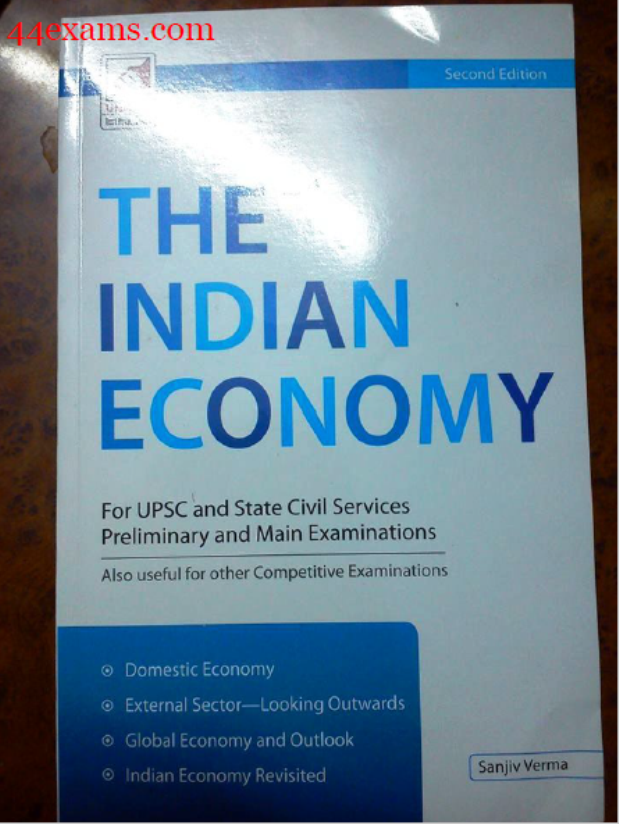 The Indian Economy By Sanjiv Verma : For UPSC Exam PDF Book