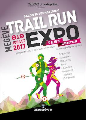 Salon Running Trail Marche Nordique à Megève 8-9 Juillet 2017