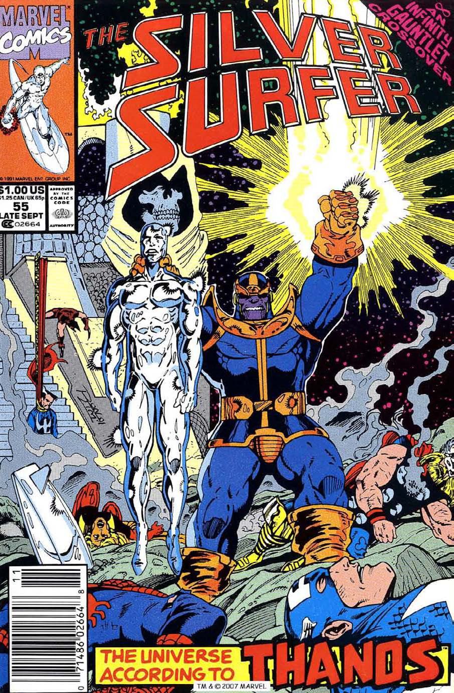 Silver Surfer (1987) issue 55 - Page 1