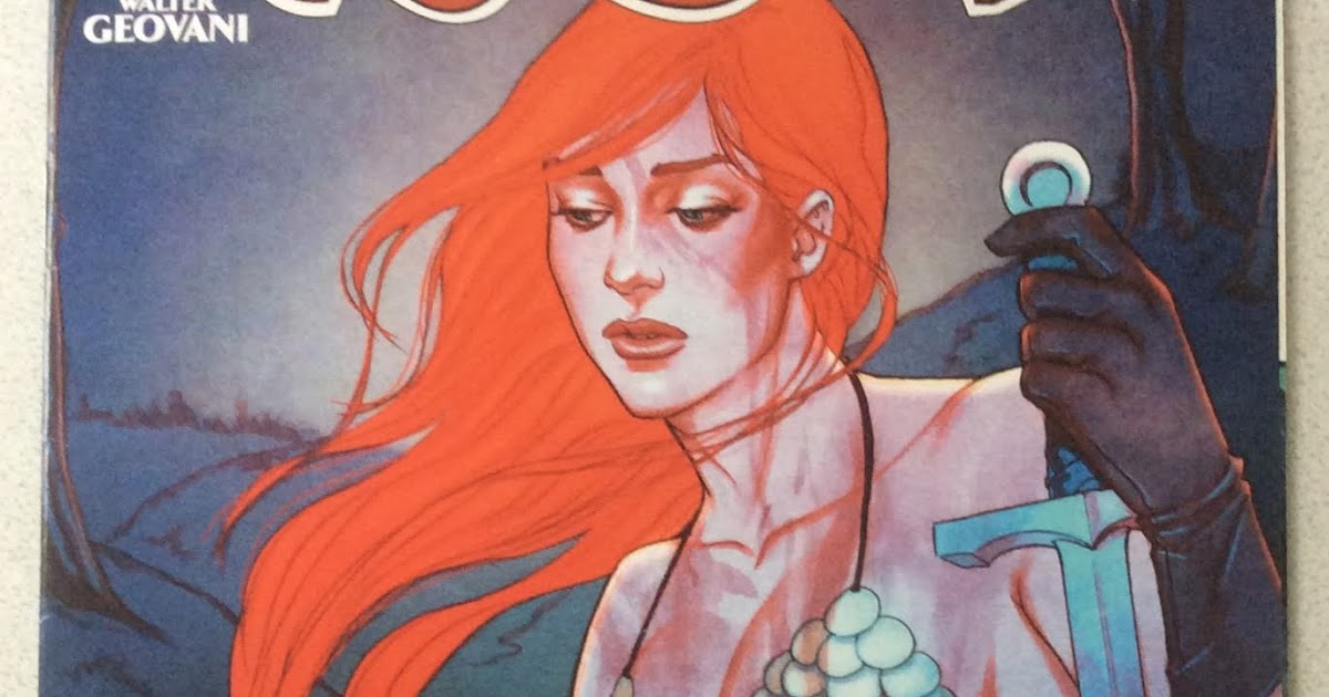 Comic A Day Red Sonja 15