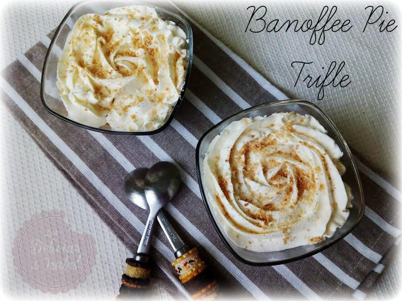 how to make banoffee trifle
