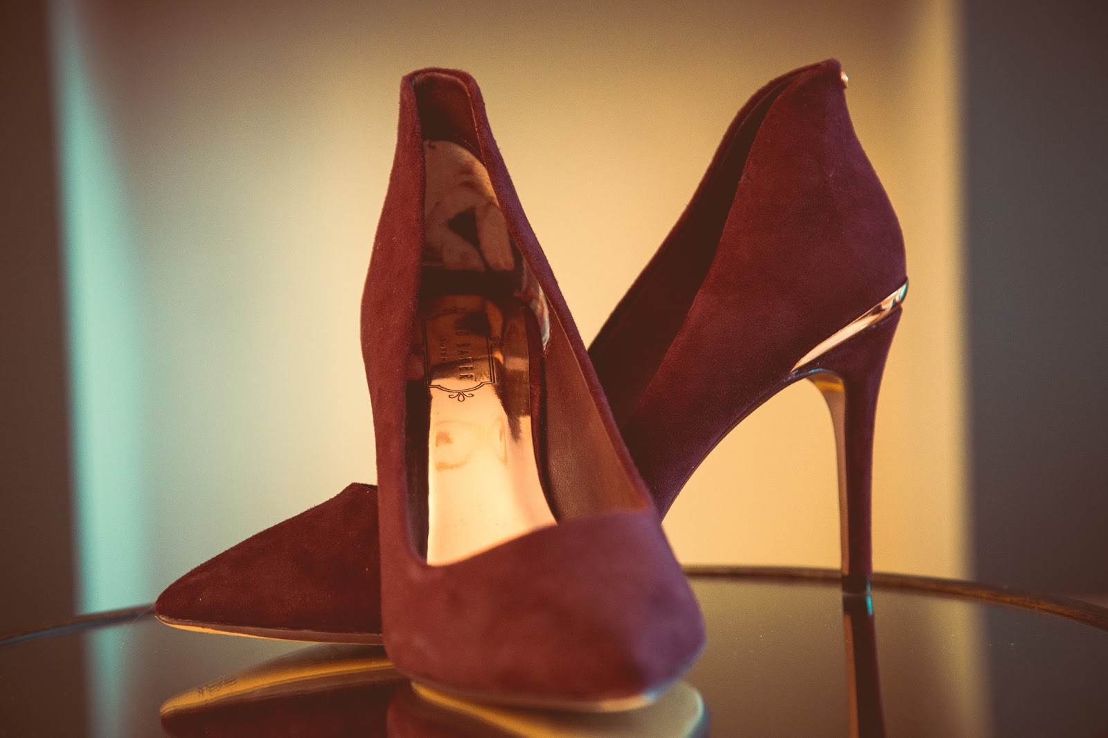 Ted Baker Burgundy  Saviy  Shoes RRP £130 (Currently on offer here) In my  mind a3d25a345