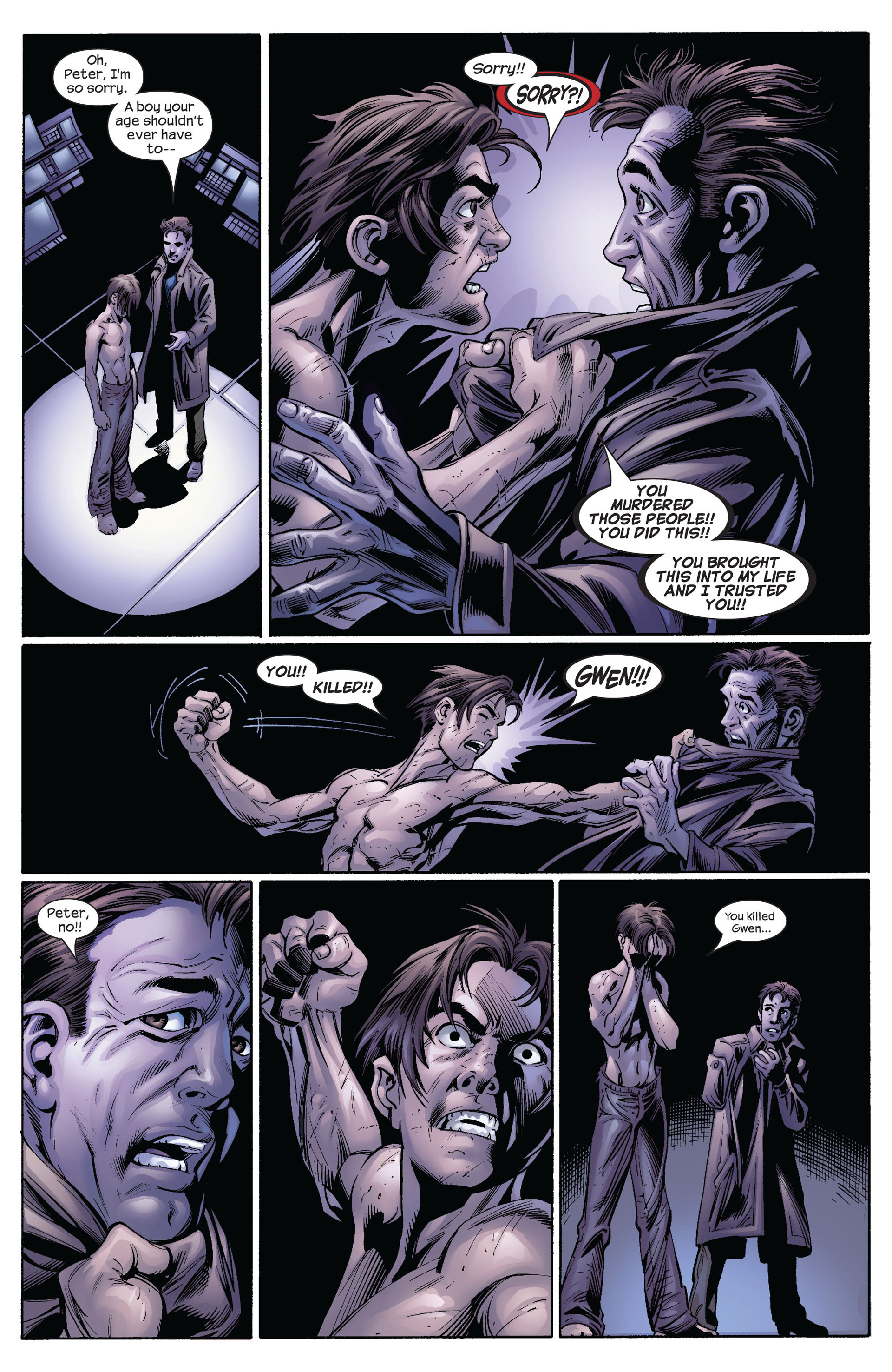 Read online Ultimate Spider-Man (2000) comic -  Issue #64 - 17