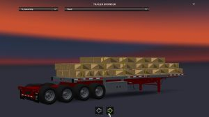 Trailers Pack Manac with 4 Axles