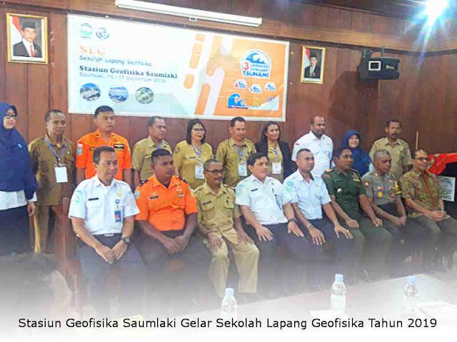 Stasiun Geofisika Saumlaki Gelar Sekolah Lapang Geofisika Tahun 2019