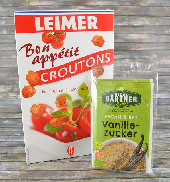 Degustabox April '16 Croutons und Vanillezucker