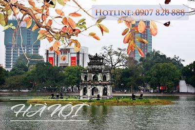 Vé máy bay đi Hà Nội quận Tân Bình