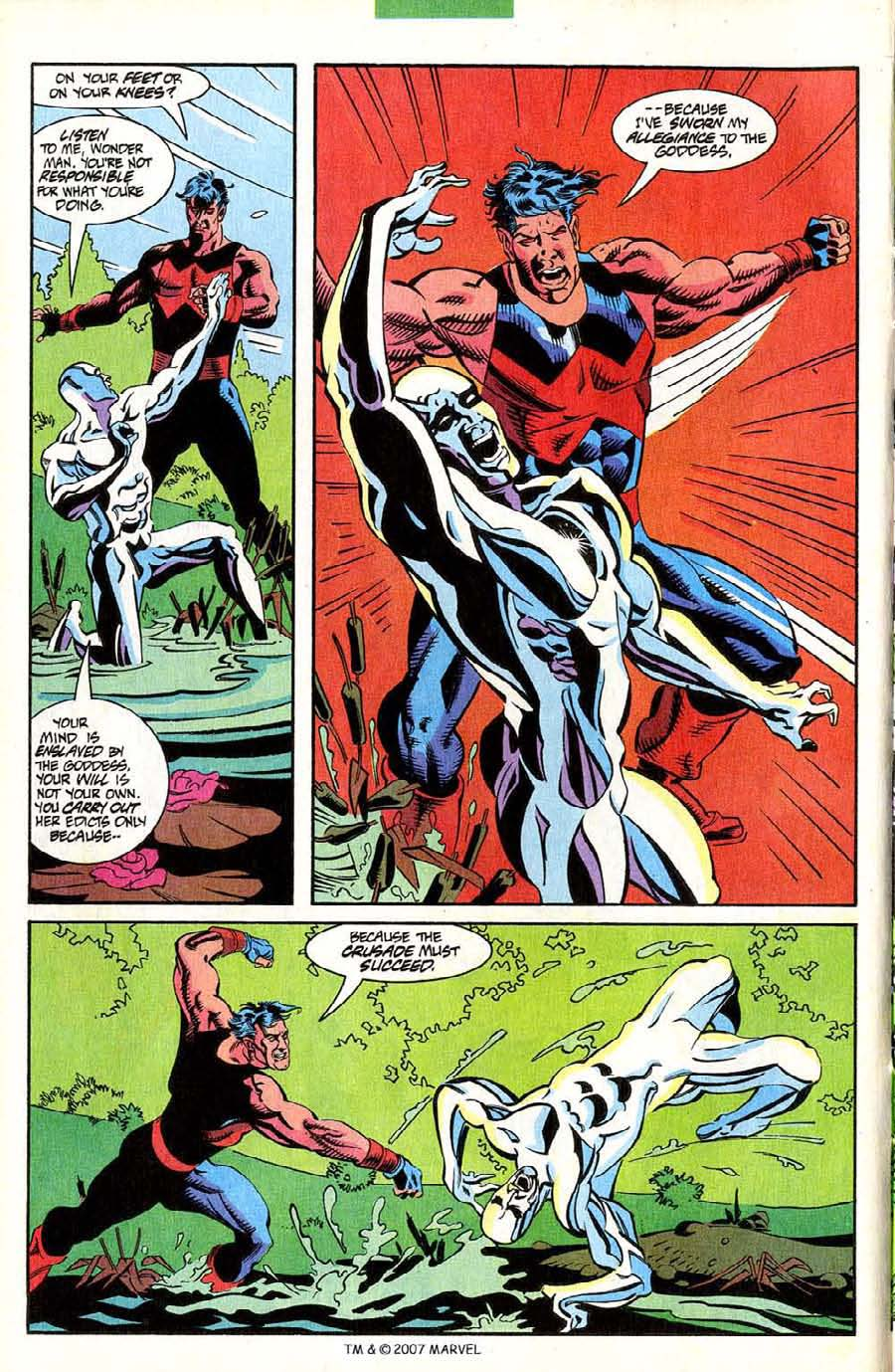 Read online Silver Surfer (1987) comic -  Issue #85 - 16