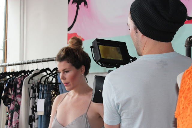 Behind the scenes of our webisodes shoot for Slice.ca