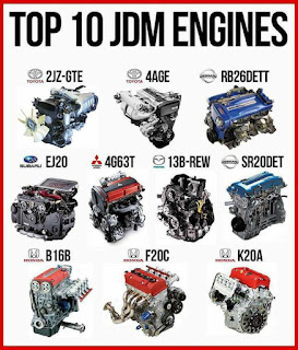 Top 10 Japanese Car Engine