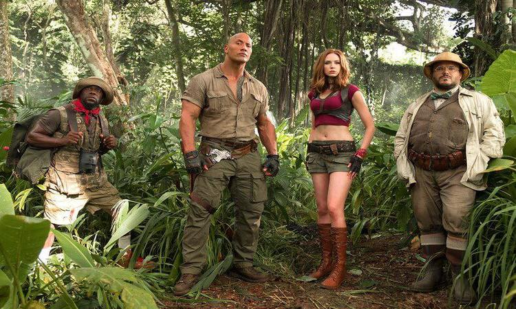 Jumanji Welcome to the Jungle Box Office Look